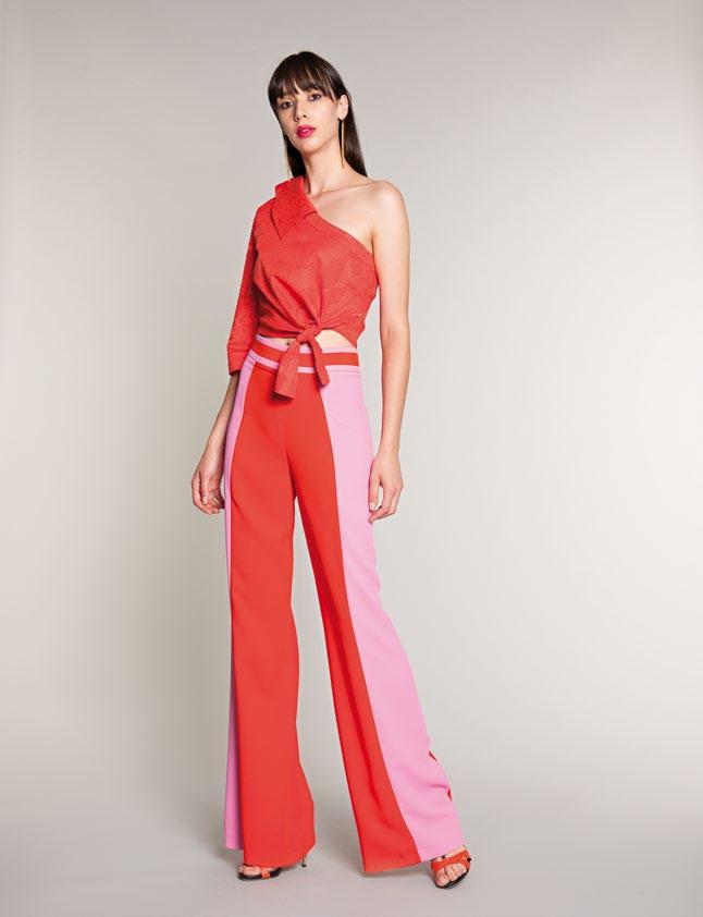0e9d4d824d8b0 La collezione Hanita per la primavera-estate 2018 presenta abiti che  sembrano usciti dalla tavolozza di un pittore
