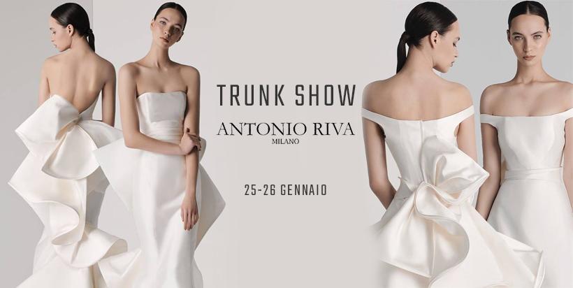5f560f6e8099 Trunk Show Antonio Riva · 21 gennaio 2019